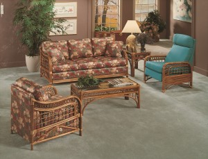 Classic Rattan Caliente 5PC Living Room Set