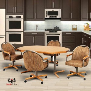 Chromcraft C188-845 and T154-365 Laminate Table Dinette Set