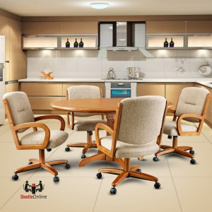 Chromcraft C176-946 and T4242-4230 Table Dinette Set