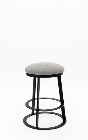 "Wesley Allen Clay 30"" Swivel Backless Bar Stool"