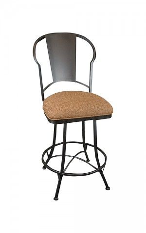 """Wesley Allen Cleveland 26"""" Swivel Bar Stool No Arms"""