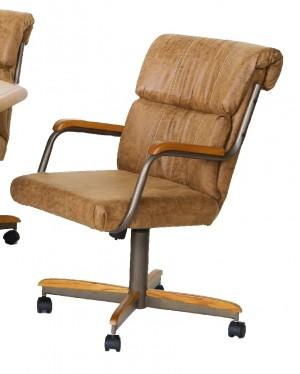 Douglas Casual Living Doris Caster Arm Chair Set of 2