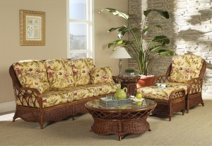 Classic Rattan Eastwind 5PC Living Room Set