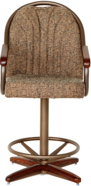 "Douglas Casual Living Hunter 26"" Swivel Bar Stool"