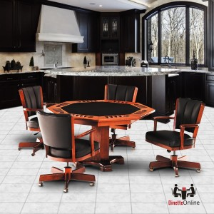 IM David Game Set T5499 Table & C1109GC Chairs