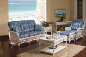 Classic Rattan Kiawah 6PC Living Room Set