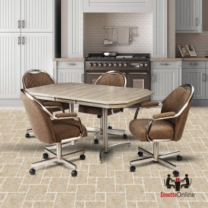 Metal Dinette Sets | Metal and Glass Dining Tables & Chairs ...