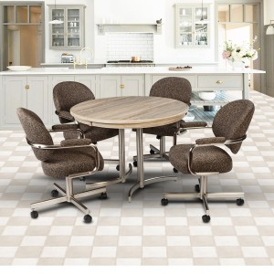 Chromcraft Kitchen Decor Rhodes Dining Set