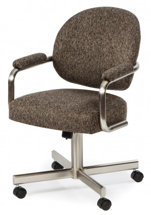 Chromcraft KM363-KP01 Swivel Tilt Caster Chair