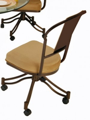 Callee Charleston Swivel Tilt Caster Dining Side Chair