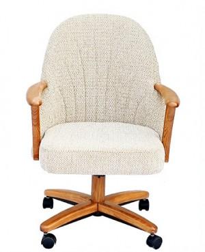 Chromcraft C127-936 Swivel Tilt Caster Chairs