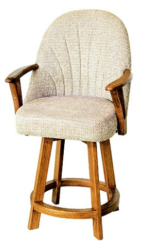 Chromcraft C127-388 30 Swivel Barstool
