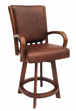 Chromcraft C177-384 26 Swivel Counter Height Barstool