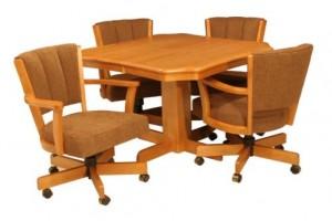 CR Joseph Scalloped Edge Extension Dinette Table