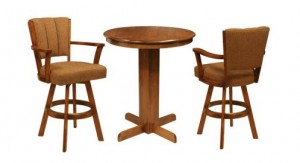 CR Joseph Counter Height Pub Set 3PC High End