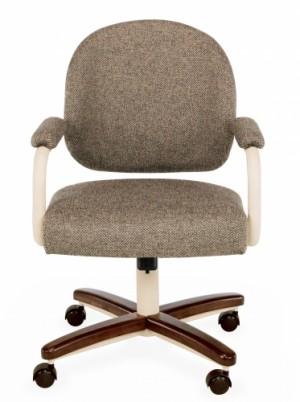 Chromcraft C363-935 metal swivel tilt caster arm chair