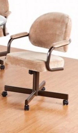 Tempo Like Dayton Swivel Tilt Caster Daytona Dinette Chair by Callee