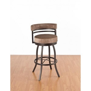 Tempo Like Americo 26 Americana Swivel Bar Stool by Callee Furniture