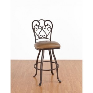 Tempo Like Veronica 30 armless Valencia Swivel Bar Stool by Callee