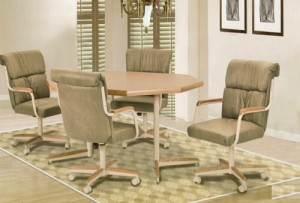 Douglas Casual Living Diana 5 PC Caster Dining Set