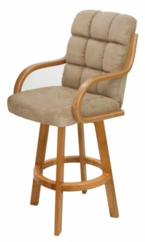 Douglas Casual Living Monroe Swivel 26 Bar Stool