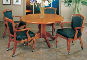 I.M. David 2416 Chair and 4127 Table Caster Dining Set