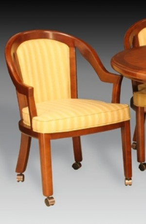 I.M. David 5407 Caster Wood Dining Chair