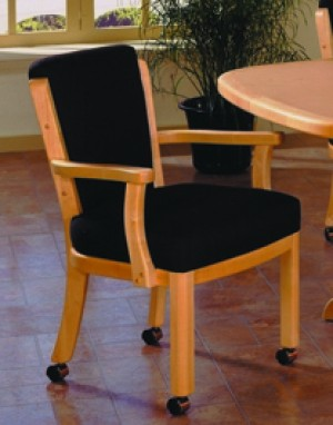 I.M. David 1298 Caster Dining Chair