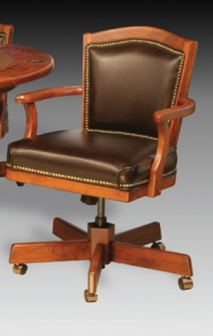 I.M. David 2416GC Adjustable Height Swivel Tilt Caster Dining Chair