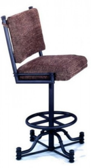 Tempo Like Bullseye 26 Burnet Swivel Wide Body Bar Stool by Callee