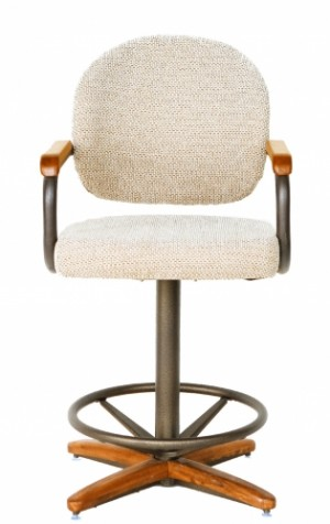 "Douglas Casual Living Sara 26"" Swivel Bar Stool Set of 2"