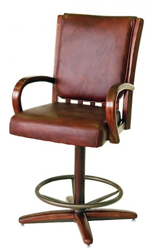 Chromcraft C177-324 26 Swivel Bar Stool