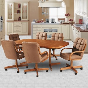 Douglas Casual Living Marcy 5 PC Caster Dining Set