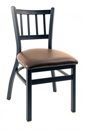 Commercial Jailhouse Nesting Metal Dining Chair