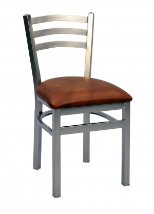 Commercial Arch Back Metal Dining Chair
