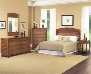 Classic Rattan Monte Carlo Bedroom Set