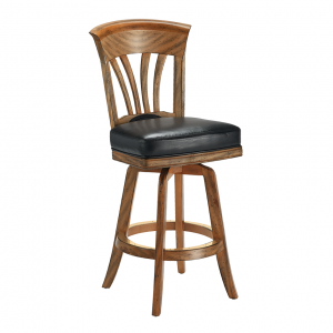 "Darafeev Nomad Flexback Swivel 30"" Bar Stool"