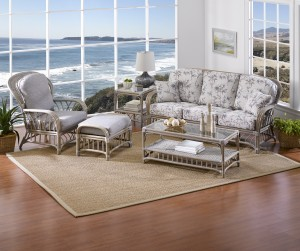 Classic Rattan Oceanview 5PC Living Room Set
