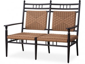 Lloyd Flanders Low Country Cushionless Settee