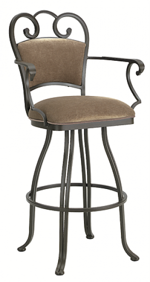 "Tempo Callee Ventura 34"" Swivel Arm Bar Stool"