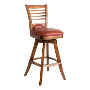"Darafeev Veneto 26"" Swivel Flexback Cafe Bar Stool"