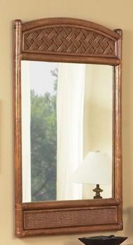 Classic Rattan Monte Carlo Mirror