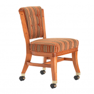 Darafeev 960 Armless Club Chair with Casters