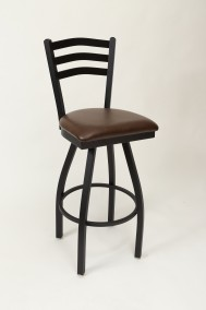 "Commercial Arch Back Metal Swivel 30"" Bar Stool"