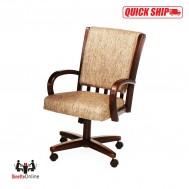 Chromcraft Quick Ship C177-936 Swivel Tilt Caster Chairs