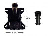 Douglas Swivel Tilt Mechanism with Plastic Insert Set of 3