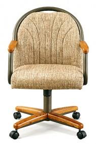 Chromcraft C188-935 Swivel Tilt Caster Chairs