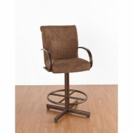 "Tempo Like Durango Swivel 26"" Durant Bar Stool by Callee"