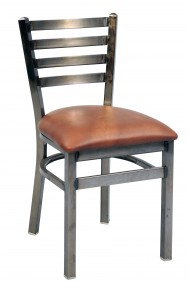 Commercial Ladder Back Metal Dining Chair