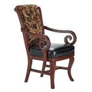 Darafeev Pizarro Dining Arm Chair